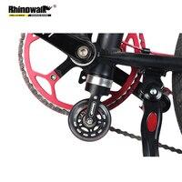 Rhinowalk 스크롤 휠 부스터 접이식 자전거 스크롤 휠 부스터 휠 롤러 보조 부스터 훈련 보조 쉬운