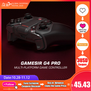 GameSir G4 Pro Switch Controller Pubg Game Gamepad 2.4GHz Wireless Joystick for Nintendo Switch Android PC Apple Arcade and MFi