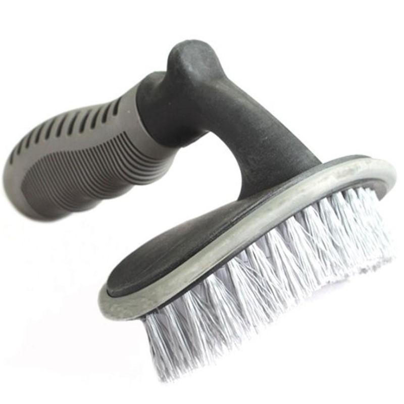 Car Tire Brush Curved Tire Brush Cleaning Wheel Brush T Word Tire Car Wash Brush|Sponges  Cloths & Brushes| |  -
