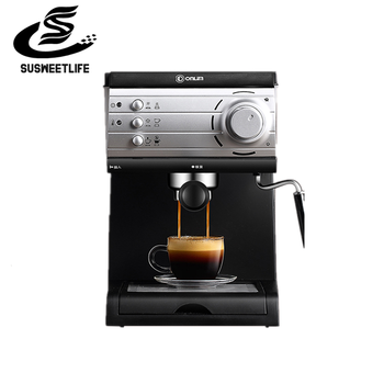 Donlim/ Dongling DL-KF6001 coffee machine household small Italian semi-automatic steam milk froth