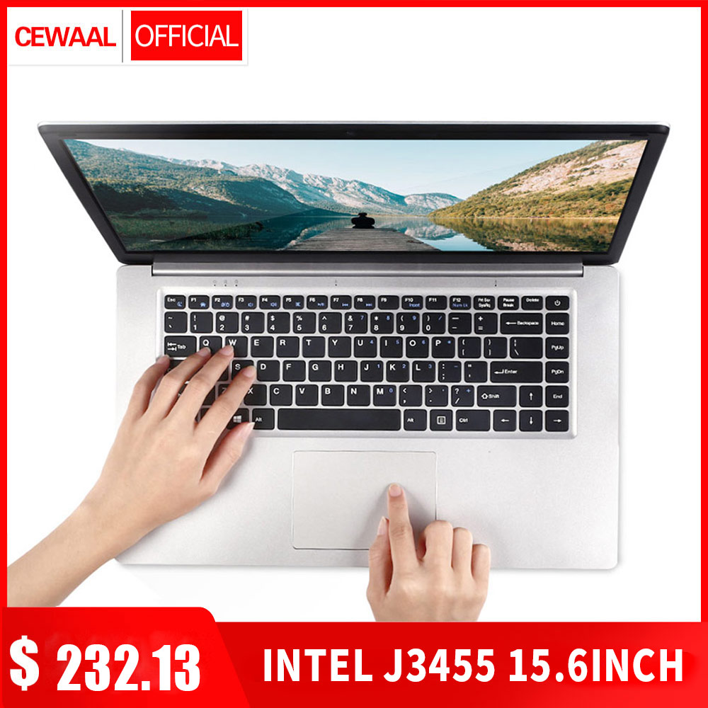15.6 Inch 8GB RAM 256GB/512GB SSD Notebook Intel J3455 Quad Core Laptops With FHD Display Ultrabook 5G WiFi Computer RJ45 HDMI
