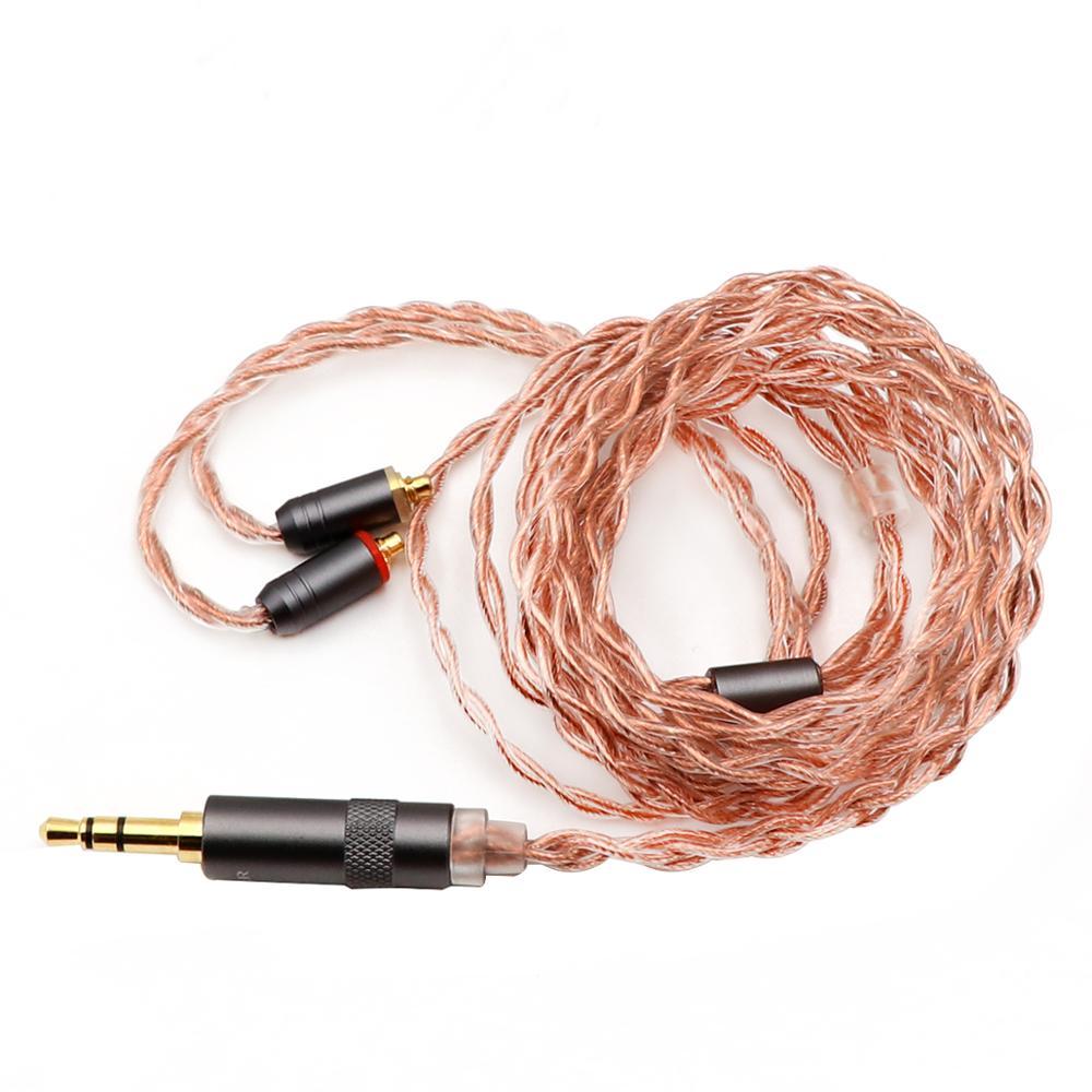 Shuoer Tape электростатический драйвер HiFi наушники вкладыши со съемным MMCX кабелем для аудиофилов - 4
