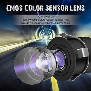 Mini traseira do carro/câmera de visão frontal invertendo câmera de backup visão noturna ntsc/pal