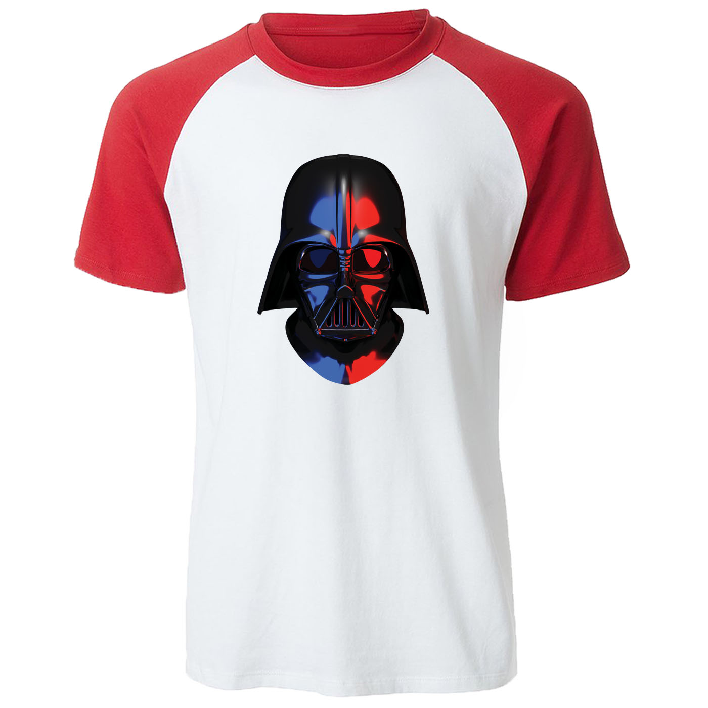 star wars T-shirt 2019 Summer Cotton t shirts men Funny novel Men's tops tee Harajuku Raglan Short Sleeve Darth Vader Streetwear image