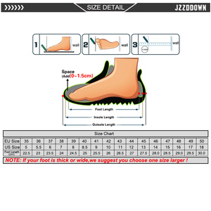Image 5 - Jzzddown للجنسين ضوء ملون الوزن أحذية رياضية أحذية للنساء الرجال زوجين عشاق النساء تنفس Zapatos دي موهير أحذية رياضية