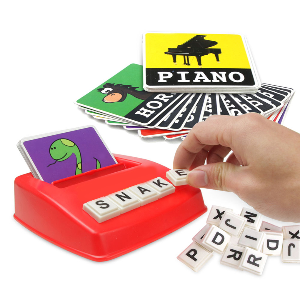 Kids Learning Entertainment English Letter Sight Words Cards Phonics Educational Games For 0-14 Ages Language Children Toys