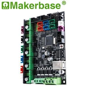 Image 4 - Makerbase 3D מדפסת לוח MKS Gen L בקר תואם עם Ramps1.4/Mega2560 R3 תמיכה A4988/TMC2208/2209TMC2100 נהגים