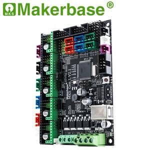 Image 4 - Makerbase 3D printer board MKS Gen L controller compatible with Ramps1.4/Mega2560 R3 support A4988/TMC2208/2209TMC2100 drivers