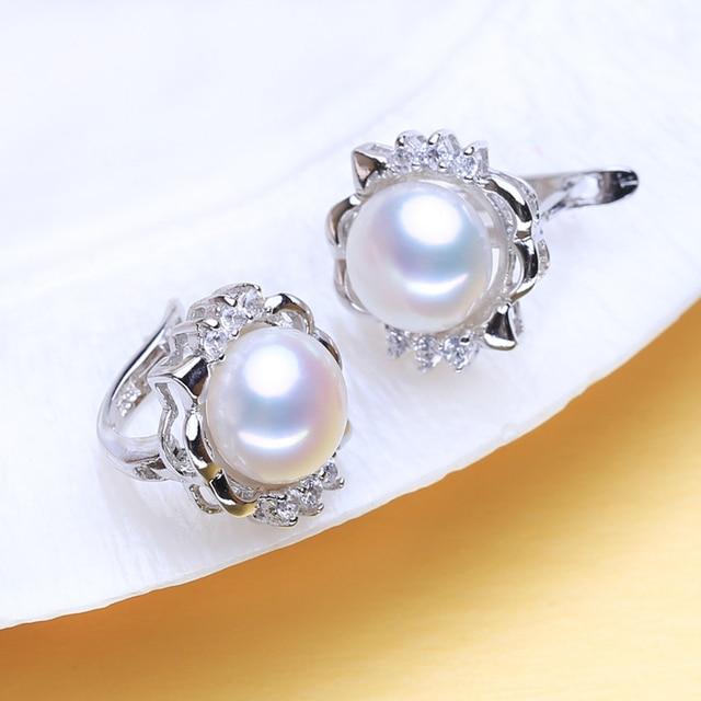 FENASY 925 boucles doreilles en argent Sterling naturel perle deau douce boucles doreilles pour les femmes mode soirée fête mariage bijoux fins