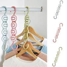 Creative Practical Clothes Hanger Rack Space Saver Organizer Wonder Clothing Hook Magic Closet
