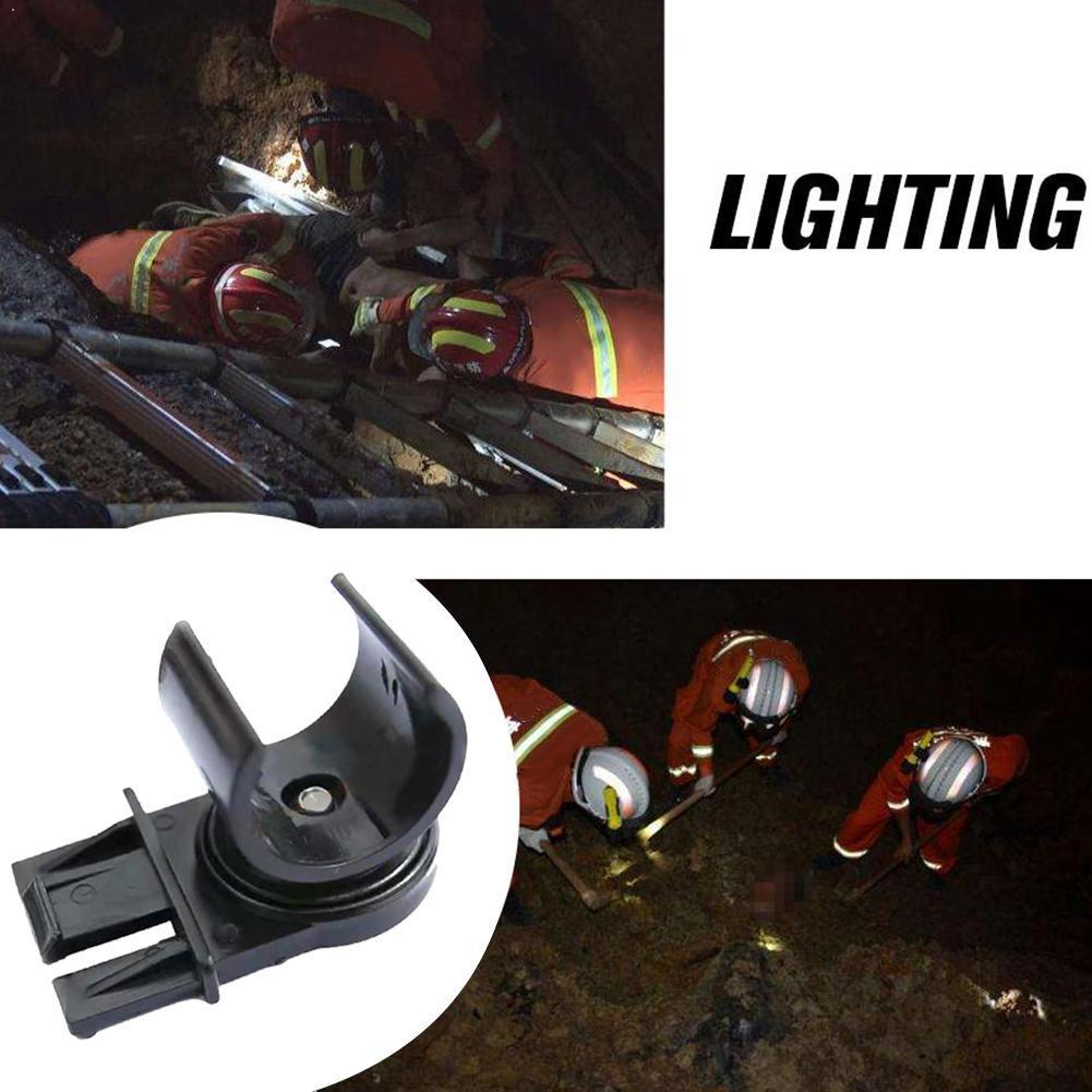 Tactical Helmet Flashlight Holder Black Flashlight Holder Climbing Outdoor F2 Accessories Flashlight Helmet Stents Headpiec Y2L4