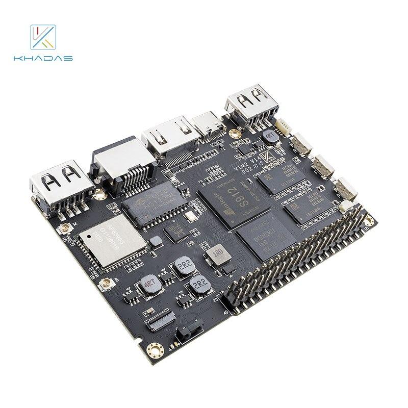 Khadas VIM2 Pro Mother Board Only DDR4 3GB 32GB