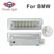 цена на LED Door Interior Footwell Light Led courtesy light CAR Styling For BMW 1 3 5 6 7 series E81 E82 E87 E90 E91 E92 F30 F20 F10 F01