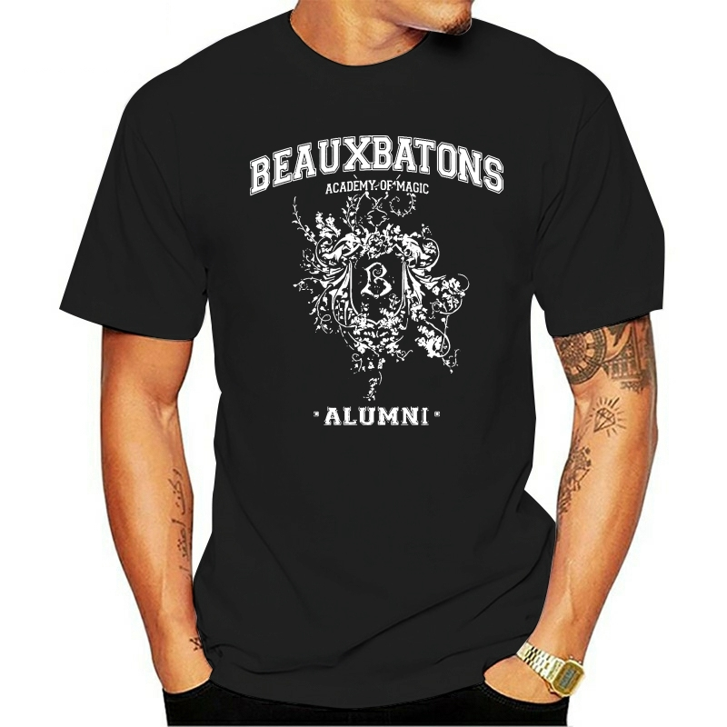 Camiseta estilo de moda masculina beauxbatons ex-alunos t 2021