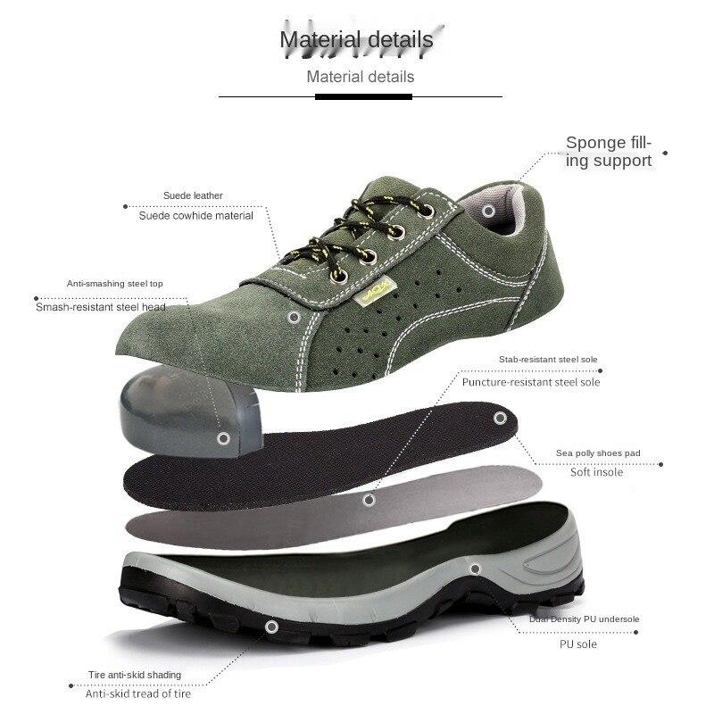 FANAN hommes Indestructible acier orteil chaussures Anti-fracassant Anti-crevaison bottes en plein air antidérapant sécurité nouveaux hommes bottes livraison gratuite
