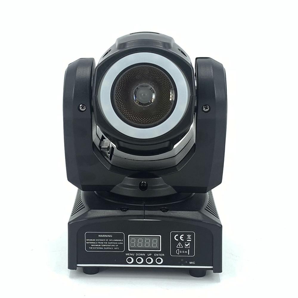 DJ Lighting Mini Moving Head Led 60W Beam Stage Led Light With 12LED SMD5050 RGB  Super Bright LED DJ Spot Light Dmx Control