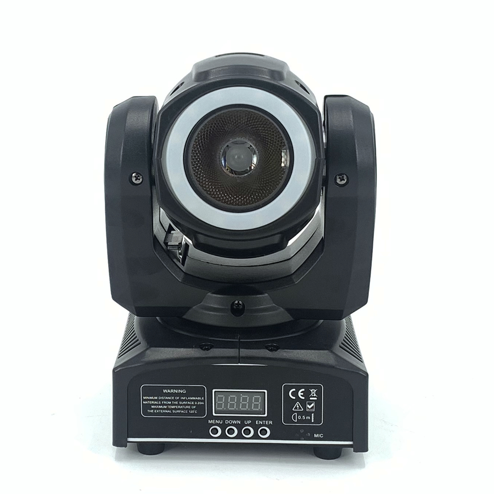 Dj Beam Mini Moving Head 65W With 12LED SMD5050 RGB  Led Light Super Bright 60W LED DJ Spot Light Dmx Control