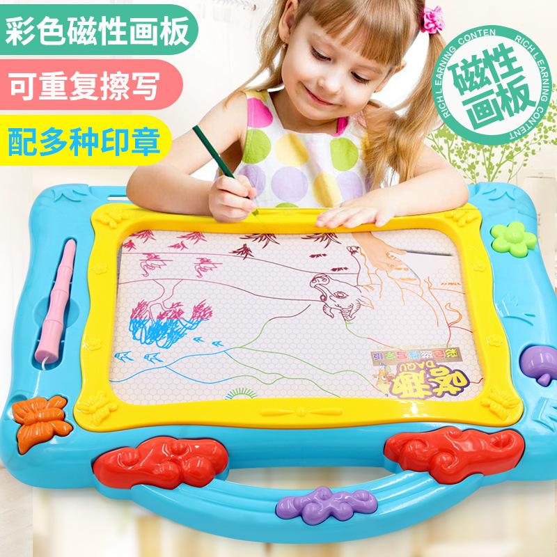 Baby Color Magnetic Drawing Board Children Writing Board Toys Handwriting Board Infants Doodle Board Drawing Board