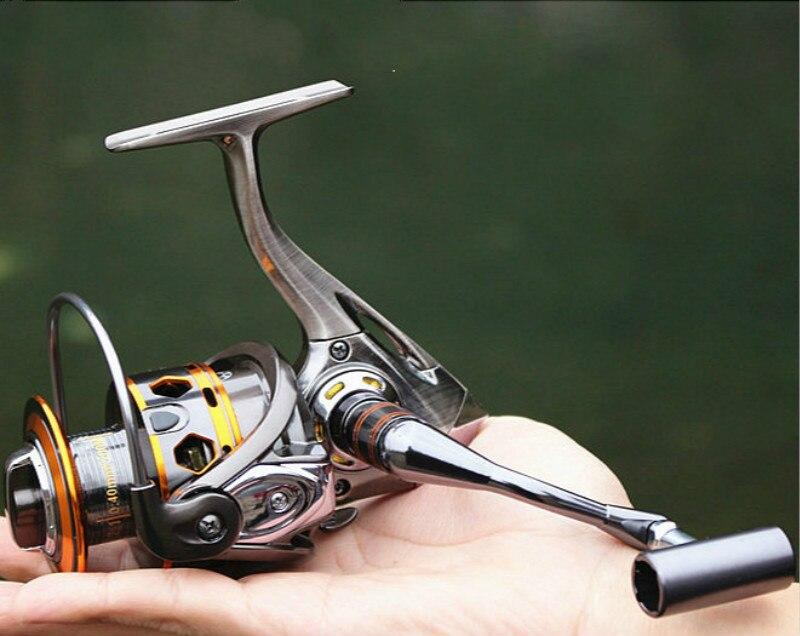 Giro De Pesca Reel Roda Voando Para