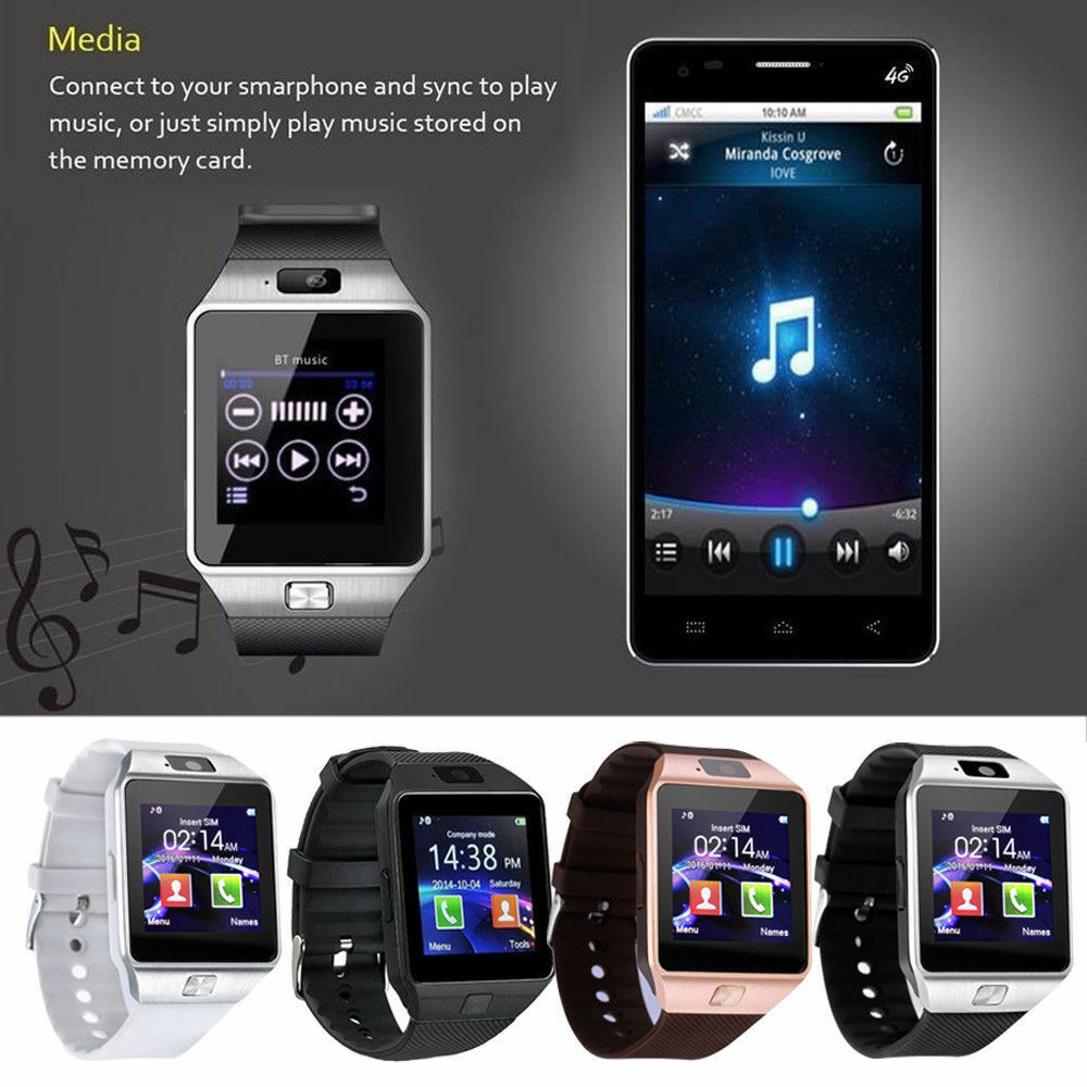 DZ09 Bluetooth Smart Wrist Watch Sport Office Phone Mate Use For Android & IOS HOT|Home Automation Kits| - AliExpress