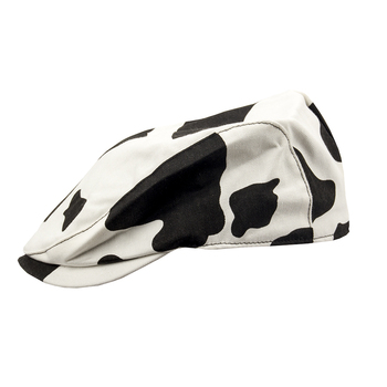 The star is the same as lovely Cow pattern beret of Japan summer retro leisure duck tongue forward cap childrens hat