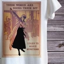 Nueva camiseta divertida con diseño de bomba Vintage de Propaganda de guerra para hombres o mujeres