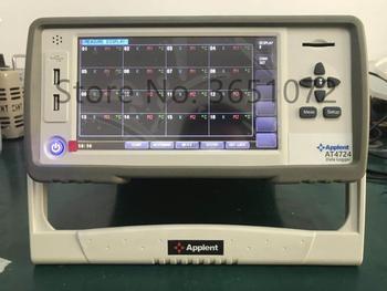 AT4724 Multi-Canale Logger di Temperatura Display 24 Canali 7 Pollici TFT-LCD True-Color Schermo Lcd