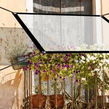 Garden-Plants Tarpaulin Balcony Waterproof Cloth Bonsai Succulent Transparent Keep-Warm