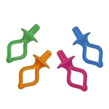 50 adet çeşitli renk silikon iplik klipler bobin tutucular klipler kelepçeleri tutmak bobin ipliği kuyrukları kontrol altında