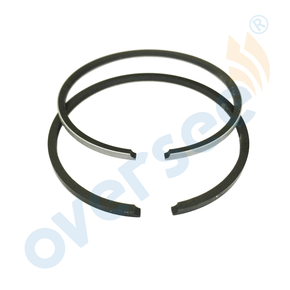 6G1-11610 Piston Ring Set For Yamaha 6HP 8HP Outboard Motors Boat Motor Aftermarket Parts 6G1-11610-00 647-11610