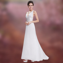 Witte Formele Mermaid Avondjurken Lange Elegante Gala Jurken Sexy Backless Chiffon Vrouwen Party Dress Quinceanera Robe De Soiree(China)
