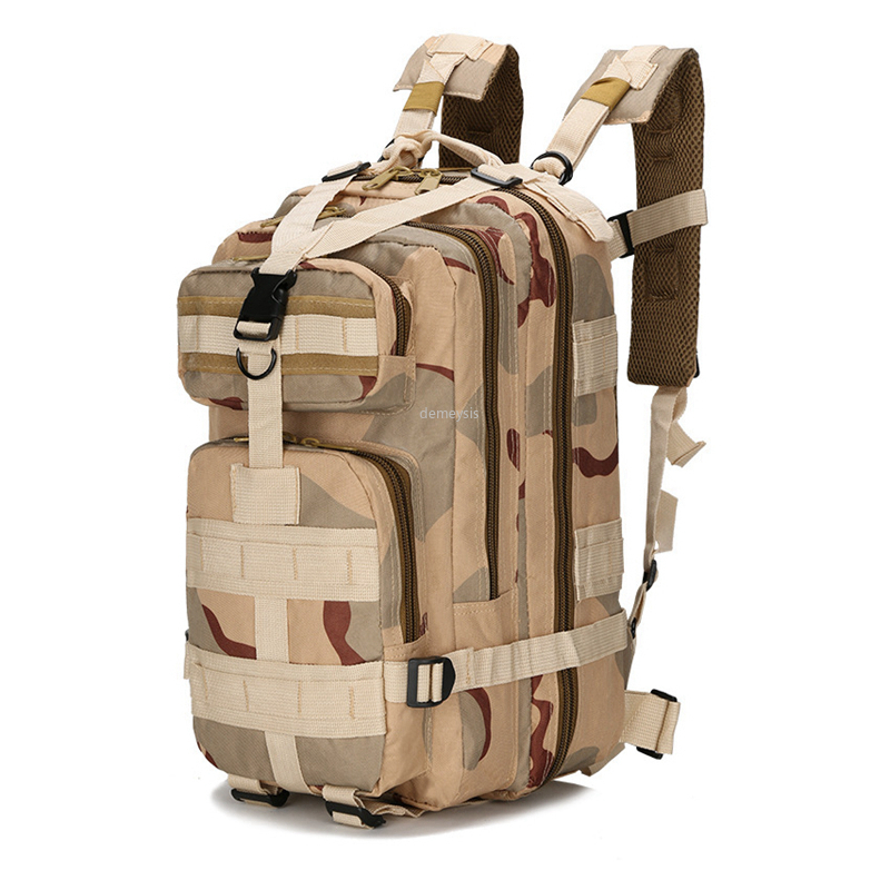 Large Capacity Tactical Combat Backpacks Molle Military Airsoft Rucksacks 600D Oxford Backpack Waterproof Hiking Clombing Bags