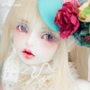 Image 1 - Fairyland FairyLine Lucywen bjd sd кукла 1/4 FL MSD тело фигурки из смолы модель девушка глаза высокое качество игрушки магазин OUENEIFS