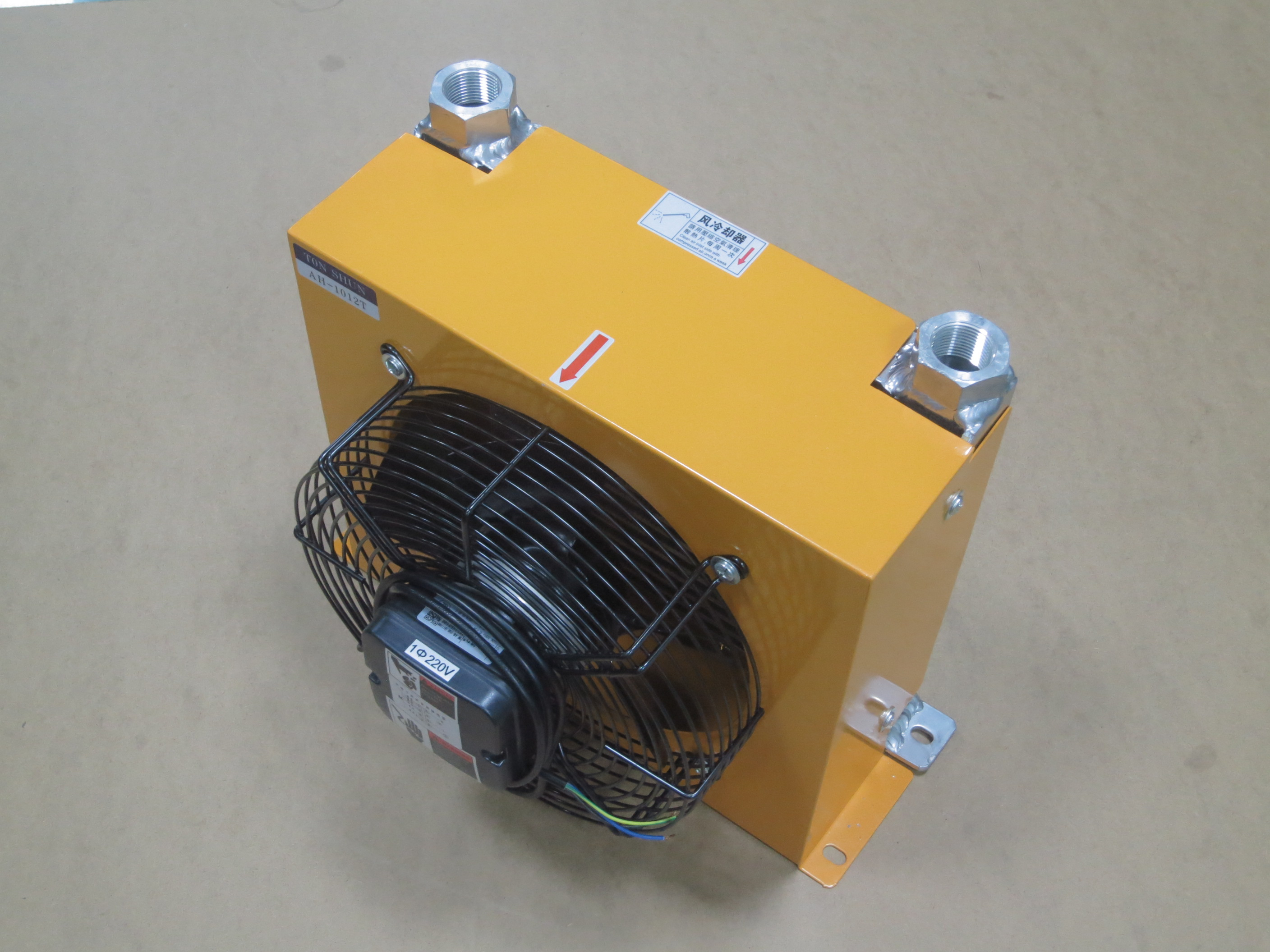Hydraulic system air cooler AH1012T hydraulic cooler radiator