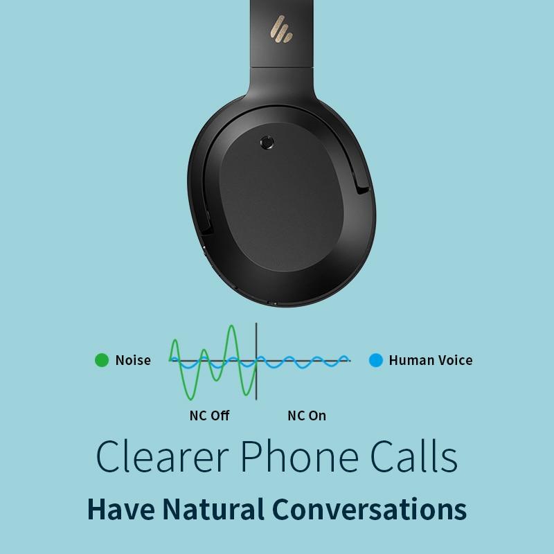 EDIFIER W820NB ANC Wireless Bluetooth Headphone Hi-Res Audio Bluetooth 5.0 40mm Driver Type-C Fast Charge Hybrid ANC 4