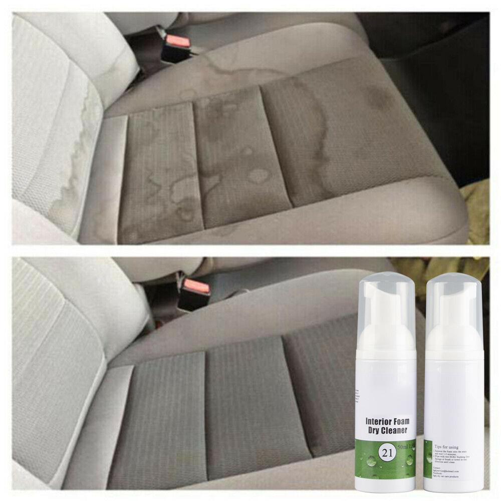 2020 New HGKJ-21-50ml Indoor Leather Cleaning Foam Dry Cleaning Agent Car Care 50ml MVP Car Interior Cleaning