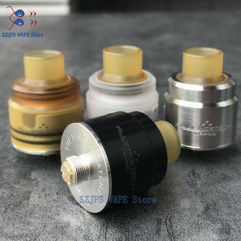 Yftk The Flave Rda Tank With Bottom Feeder Pin 22mm 24mm 316ss Bottom Filling Adjustable Airflow System Vs O ATTY Reload S RDA