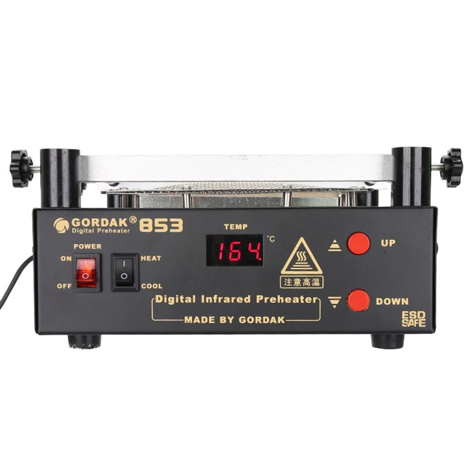 Heat Preheating Rework 853  Gordak Infrared  Electric  Soldering Gun IR iron Soldering BGA Station Station  Hot Air