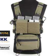 MK3 Low Profile Tactical Micro Chest Rig Complete Set Ranger Green(SKU051483)