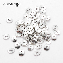 Metal Button Sewing Clothes Accessories Antique Silver Garment Decoration Button Garment DIY Jewelry Materials Craft Supplies 25pcs anchor urea button with four eye buttons retro fire button diy crafts clothing sewing accessories