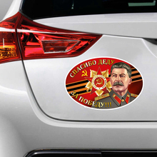 S4 0125# Printed Self adhesive Decal For Victory Day Car Sticker Waterproof Auto Decors on Bumper Rear Window