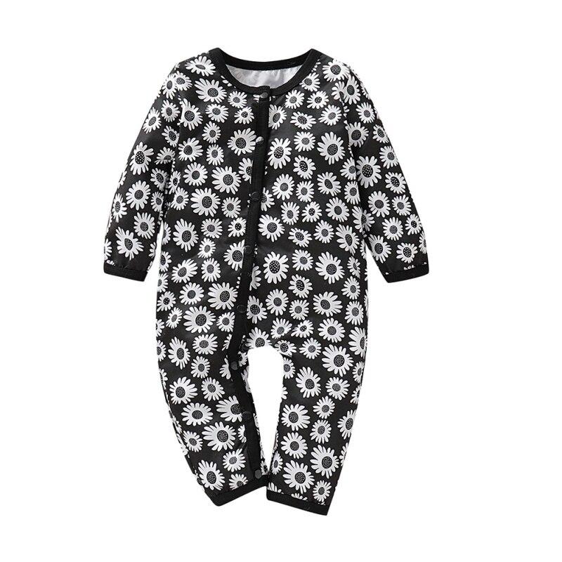 Herbst Winter Baby Junge Mädchen Romper Neugeborenen Bebe Kleinkind Langarm Baumwolle Pyjamas 0-18 Monate Strampler Baby Kleidung