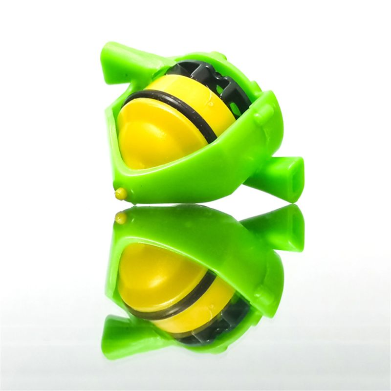 Novelty Whistle Gyro Toys Blowing Rotation Stress Relief Desktop Spinning Top Toys Kids Toys Gift Q6PD