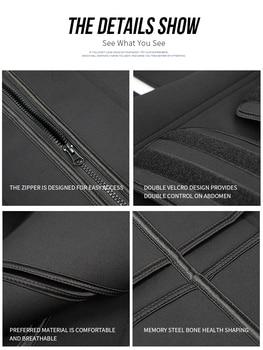 Waist trainer Slimming Belt Sauna Sweat Faja  tummy shaper Shaper Trimmer Straps Modeling Shapewear body binders shaper girdle 4
