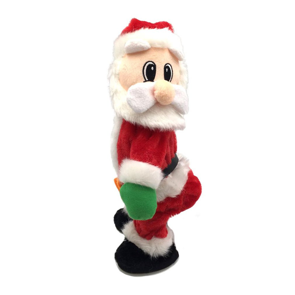Christmas New Gift Dancing Electric Musical Toy Santa Claus Doll Twerking Singing Christmas Decoration For Home Kid Gifts