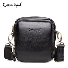 Cobbler Legend Genuine Leather Bag Men Bags Messenger Black