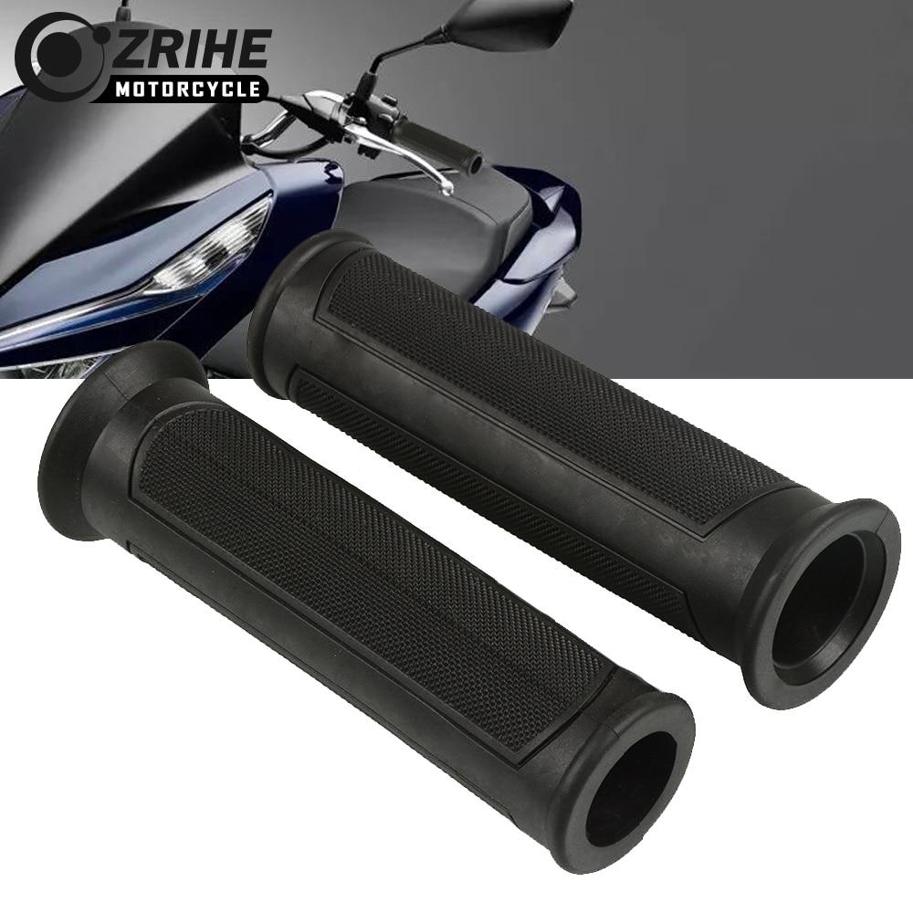 Motorcycle Rubber Handlebar Grips Hand Bar For Vespa Granturismo 125/200 GTS 125/250 S125/150/300 Super CFMOTO400NK CFMOTO 650NK