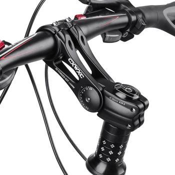 Wspornik rowerowy Riser mostek kierownicy roweru z regulowanym kątem rower MTB widelec Stem Road aluminium rowerowe akcesoria rowerowe Dropship tanie i dobre opinie CN (pochodzenie) Z aluminium 20-22 5mm 15-25mm