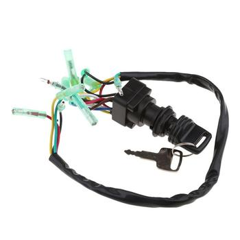Ignition Main Key Switch Set 703-82510-43-00 For Yamaha Outboard Motor Control Car Repair And Modification Accessories фото