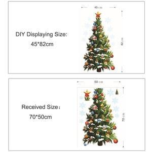 Image 4 - Cây Giáng Sinh Với Quà Tặng Tiệc Lễ Hội Trang Trí Dán Tường Ngôi Sao Miếng Dán Trang Trí Nhà Đảng Đề Can Phòng Khách